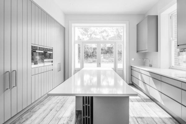 OBFA Braemar Kitchen Island_B+W